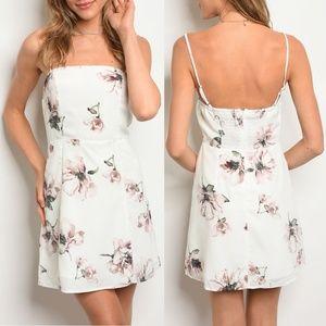 Ivory Floral Dress {Wild Honey}